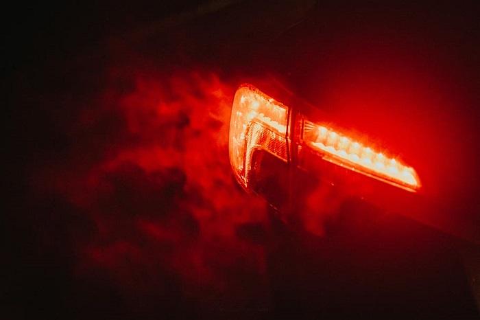 Luz emergencia coche